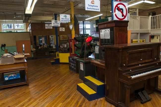 The interior of The Children's Museum in Utica on Thursday, September 17, 2015.
